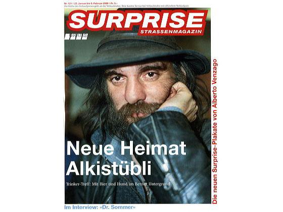 Cover for Surprise Strassenmagazin