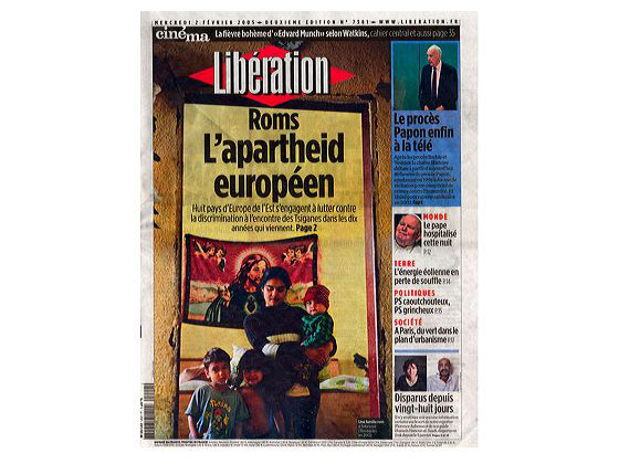 Cover for Libération